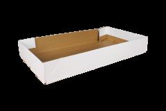 Kartonnen bak - 54x31x8 cm *