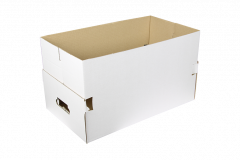 Kartonnen bak - 54x31x30 cm *