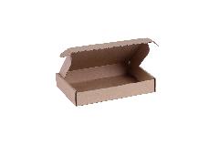 Brievenbusdoos A6 - 16x11x3 cm bruin *