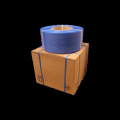 Strapband [machine] - 12mm / 3000m blauw