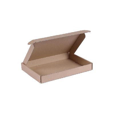 Brievenbusdoos A5 - 22x15,5x3 cm bruin *