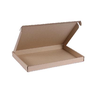 Brievenbusdoos A4 - 31x21,5x3 cm bruin *