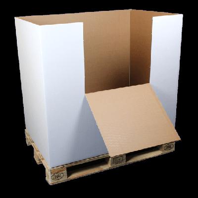 Palletbox 120x80x107 DG zwaar *