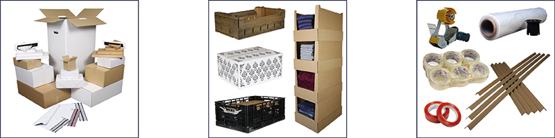 standaard verzendverpakkingen